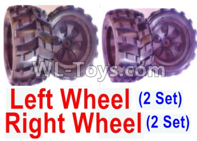 Wltoys 18405 Whole Left and Right wheel unit-(2 set Left and 2 set Right),Wltoys 18405 Parts