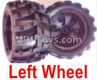 Wltoys 18405 Whole Left wheel unit(Include the Wheel hub,tire lether)-2 set-0928,Wltoys 18405 Parts
