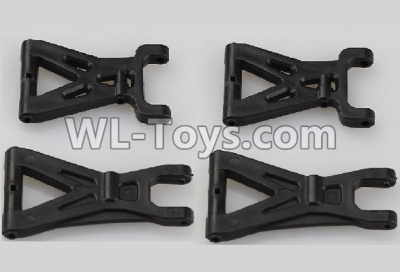 Wltoys 18405 Front and Rear Swing arm Parts,Suspension Arm(Total 4pcs)-A959-02,Wltoys 18405 Parts
