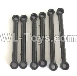 Wltoys 18405 Front and Upper Rod(2pcs) & Steering Rod(2pcs) & Rear and Upper Rod(2pcs)-0900,Wltoys 18405 Parts