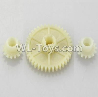 Wltoys 18405 Reduction gear with 2 small gear-A949-24,Wltoys 18405 Parts