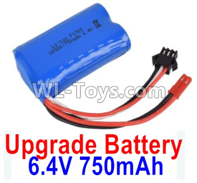 Wltoys 18405 Upgrade Battrey Parts-6.4V 750mAh Battery Parts(1pcs)-52X32X16mm-0914,Wltoys 18405 Parts
