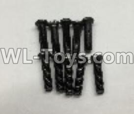 Wltoys 18405 Round Head machine screws Parts(M2.5x10)-10pcs-A303-30,Wltoys 18405 Parts