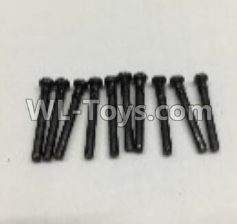 Wltoys 18405 Round Head self tapping screws Parts(M2x19)-10pcs-0917,Wltoys 18405 Parts