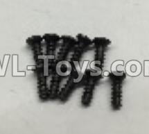 Wltoys 18405 A949-47 Countersunk self tapping screws Parts(M2x16)-10pcs,Wltoys 18405 Parts