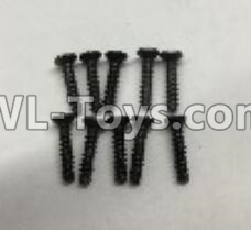 Wltoys 18405 A949-48 Countersunk self tapping screws Parts(M2x9.5)-10pcs,Wltoys 18405 Parts