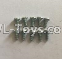 Wltoys 18405 0921 Round Head self tapping screws Parts(M2x4)-10pcs,Wltoys 18405 Parts