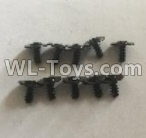 Wltoys 18405 L959-62 Round Head self tapping screws Parts with tape(2.5x6x8PWB)-10pcs,Wltoys 18405 Parts