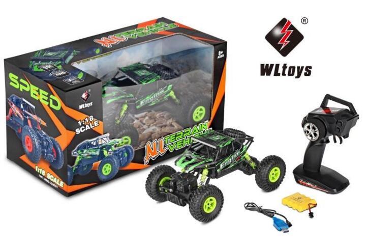WLtoys 18428-B rc car Wltoys 18428-B High speed 1:18 Full-scale rc racing car,1/18 1: 18 Mini Electric four-wheel-climbing car with Brake Function Wltoys-Car-All