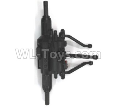 Wltoys 18628 Rear drive gearbox assembly Parts-0670,Wltoys 18628 Parts