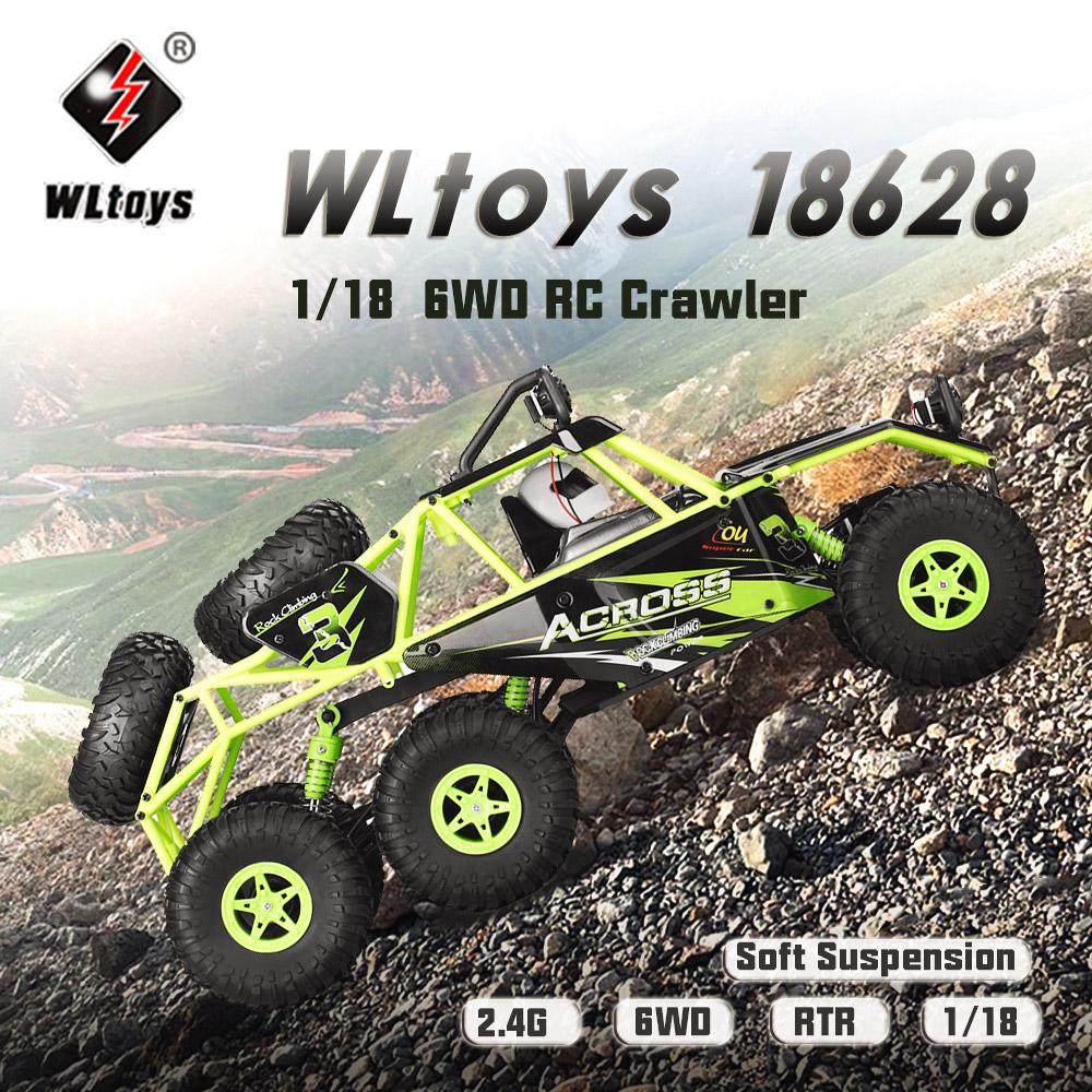 WLtoys 18628 rc car, rock crawler racing buggy,Wltoys 18628 High speed 1:18 Full-scale rc racing car,1: 18 Nini