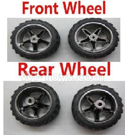Wltoys 2019 Front Wheel(2pcs) & Rear Wheel Parts-(2pcs),Wltoys 2019 Parts