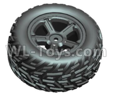 Wltoys 20409 Whole Left wheel unit(1x left)-0632,Wltoys 20409 Parts