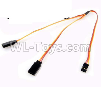 Wltoys 20409 0656 Upgrade 1-TO-2 Conversion wire for the Led Light,Wltoys 20409 Parts