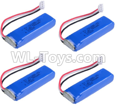 Wltoys 20402 Battery Parts-7.4V 500mah Battery Parts(4pcs)-0658,Wltoys 20402 Parts