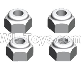 Wltoys 20402 M3 Anti loose nut(4PCS)-A929-95,Wltoys 20402 Parts