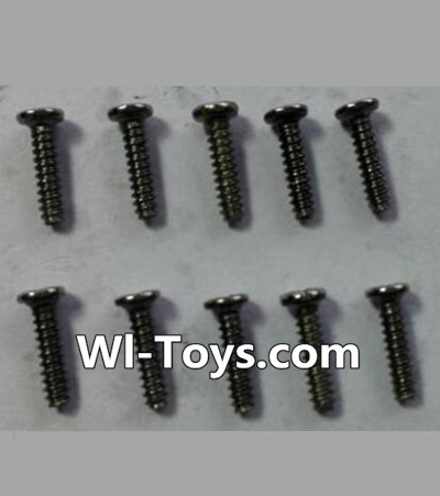 Wltoys 24438 Round-Head Self-tapping screws Parts(10pcs)-M1.7x7,Wltoys 24438 Parts