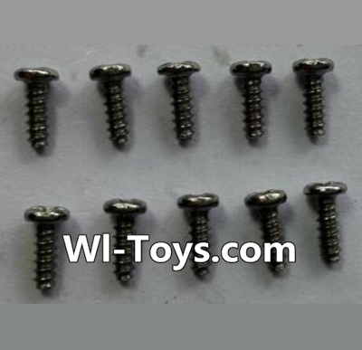 Wltoys 24438 Round-Head Self-tapping screws Parts(10pcs)-M1.7x5,Wltoys 24438 Parts