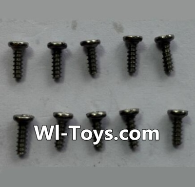 Wltoys 24438 Round-Head Self-tapping screws Parts(10pcs)-M1.4x4,Wltoys 24438 Parts