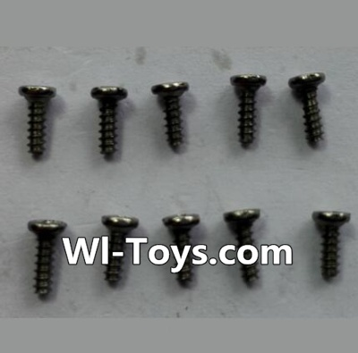 Wltoys 24438 Countersunk head Self-tapping screws Parts(10pcs)-M1.7x5,Wltoys 24438 Parts