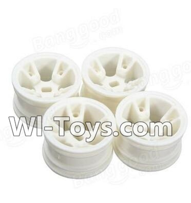 Wltoys A202 A202 Car Hub,Car wheel(4pcs)-(Can be used for A202 A212 A222,And you must buy the A202 Tire leather),Wltoys A202 A212 A222 Parts