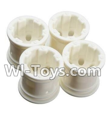 Wltoys A212 Car Hub,Car wheel(4pcs)-(Can be used for A202 A212 A222,And you must buy the A212 Tire leather),Wltoys A202 A212 A222 Parts