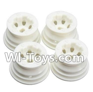 Wltoys A232 Car Hub,Car wheel(4pcs)-(Can be used for A202 A212 A222,And you must buy the A232 Tire leather),Wltoys A202 A212 A222 Parts
