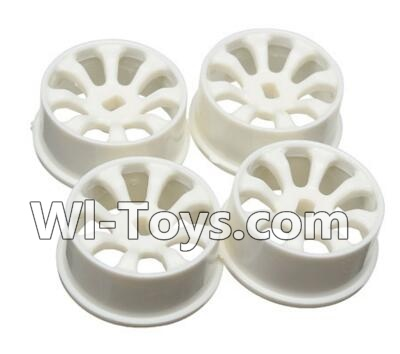 Wltoys A242 Car Hub,Car wheel(4pcs)-(Can be used for A202 A212 A222,And you must buy the A242 Tire leather),Wltoys A202 A212 A222 Parts