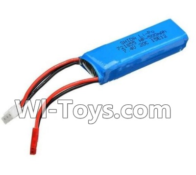 Wltoys A202 A212 A222 Battery Parts-7.4v 500mah Battery(1pcs),Wltoys A202 A212 A222 Parts