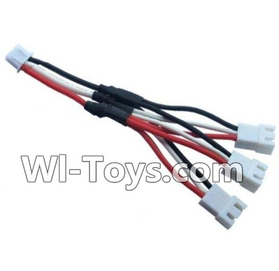 Wltoys A202 A212 A222 Upgrade 1-to-3 coversion Charging cable,Wltoys A202 A212 A222 Parts