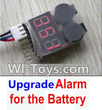 Wltoys A202 A212 A222 Upgrade Alarm for the Battery,Can test whether your Battery has enouth power(During 50M Distance),Wltoys A202 A212 A222 Parts