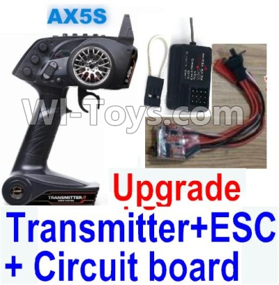 Wltoys A202 A212 A222 Upgrade AX5S Transmitter & Upgrade 30A ESC & Upgrade Circuit board,Wltoys A202 A212 A222 Parts