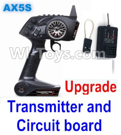 Wltoys A202 A212 A222 Upgrade AX5S Transmitter(With Speed Limit function,0-200M control) & Upgrade Circuit board,Wltoys A202 A212 A222 Parts