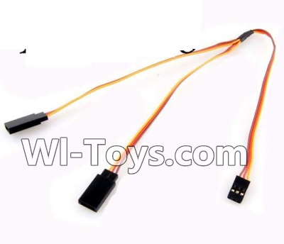 Wltoys A202 A212 A222 Upgrade 1-TO-2 Conversion wire for the Led Light,Wltoys A202 A212 A222 Parts