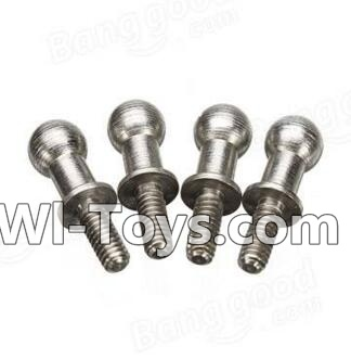 Wltoys A212 A222 A232 A242 A252 Long Ball-shape screws(4pcs-4X12.5mm),Wltoys A202 A212 A222 Parts
