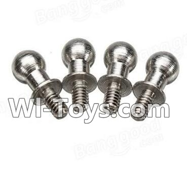 Wltoys A212 A222 A232 A242 A252 Short Ball-shape screws(4pcs-4X9.5mm),Wltoys A202 A212 A222 Parts