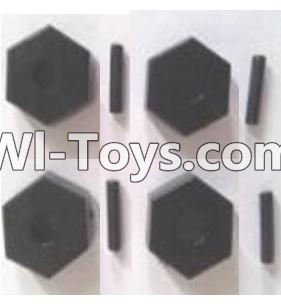 Wltoys A303 Six angle adapter(4pcs),Wltoys A303 Parts,Wltoys A303 RC Car Parts