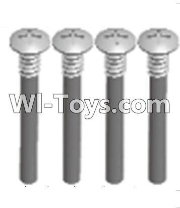 Wltoys A303 upper half tooth screws Parts(M3X36 PMO)-4PCS,Wltoys A303 Parts,Wltoys A303 RC Car Parts