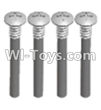 Wltoys A303 Cross recessed round head upper teeth Srews(M3X30 PM D5.5)-4pcs,Wltoys A303 Parts,Wltoys A303 RC Car Parts