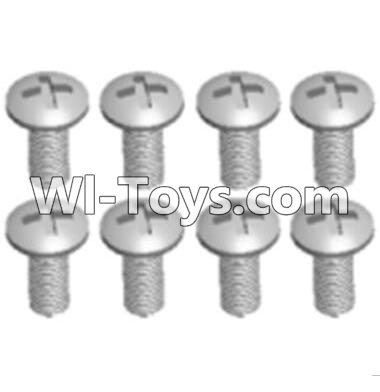 Wltoys A303 Round head machine screws Parts(M2.5X10 PM D4)-8pcs,Wltoys A303 Parts,Wltoys A303 RC Car Parts