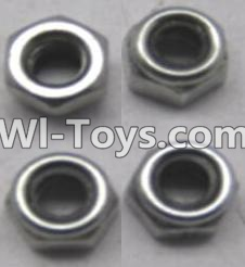 Wltoys A303 L959-65 M4 Locknut set(4pcs),Wltoys A303 Parts,Wltoys A303 RC Car Parts