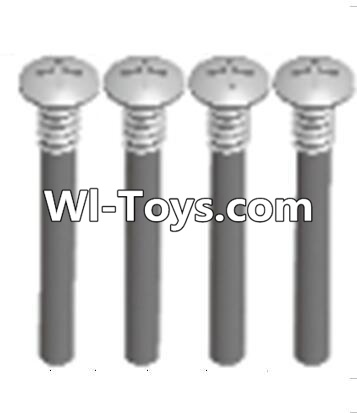 Wltoys A313 upper half tooth screws Parts(M3X36 PMO)-4PCS,Wltoys A313 Parts