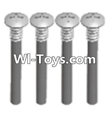Wltoys A313 Cross recessed round head upper teeth Srews(M3X30 PM D5.5)-4PCS,Wltoys A313 Parts
