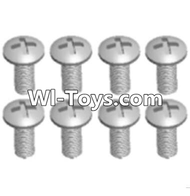 Wltoys A313 Round head machine screws Parts(M2.5X10 PM D4)-8pcs,Wltoys A313 Parts
