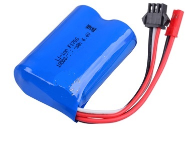 Wltoys A313 Battery Parts-6.4V 750MAH 15C BATTERY with JST Plug(53X37X19MM)-1pcs,Wltoys A313 Parts