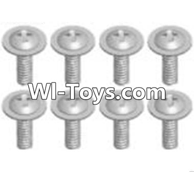 Wltoys A313 Cross recessed round head screws Parts(M2.6X6 PWB)-8pcs,Wltoys A313 Parts