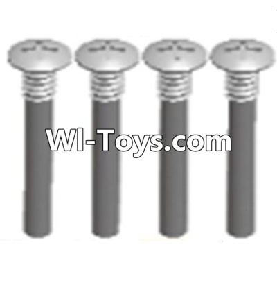 Wltoys A313 Half tooth cross head screws Parts(M2.5X15)-4PCS,Wltoys A313 Parts