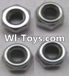 Wltoys A313 L959-65 Locknut set(4pcs),Wltoys A313 Parts