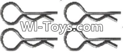 Wltoys A313 Pin,R-shape Pin Parts-1X22.2MM(4pcs)-K939-49,Wltoys A313 Parts