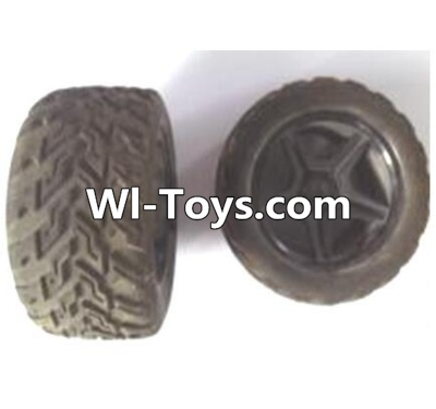Wltoys A323 Rear wheel unit Parts-2pcs,Wltoys A323 Parts